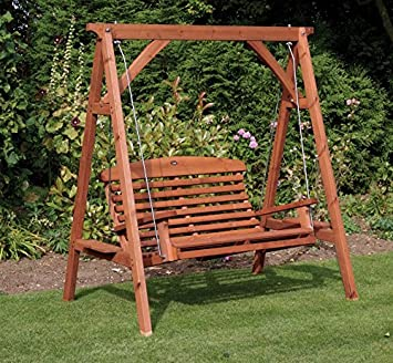 Direct Global Trading Apex Luxury Wooden Garden Swing Seat Amazon