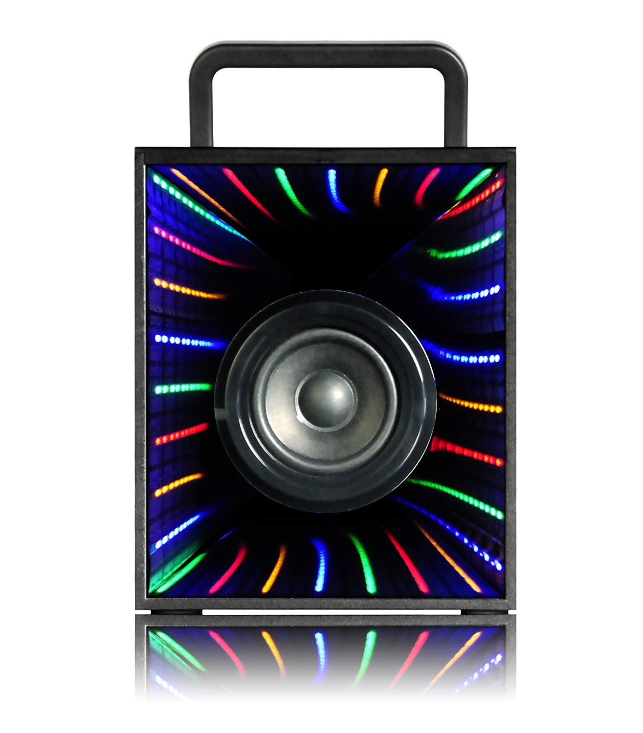 Street Dancing Speaker Waterproof LED Pulse Light Party Speaker for iPhone iPad Tablets Outdoor Sports Camping BBQ Party Single Bluetooth Portable Speakers