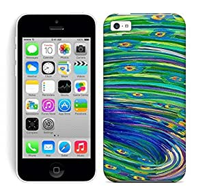 Defender Case With Nice Appearance (PEACOCK Art NO.45) For Iphone 5c