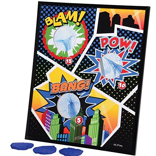 U.S. Toy GA147 Superhero Bean Bag Toss