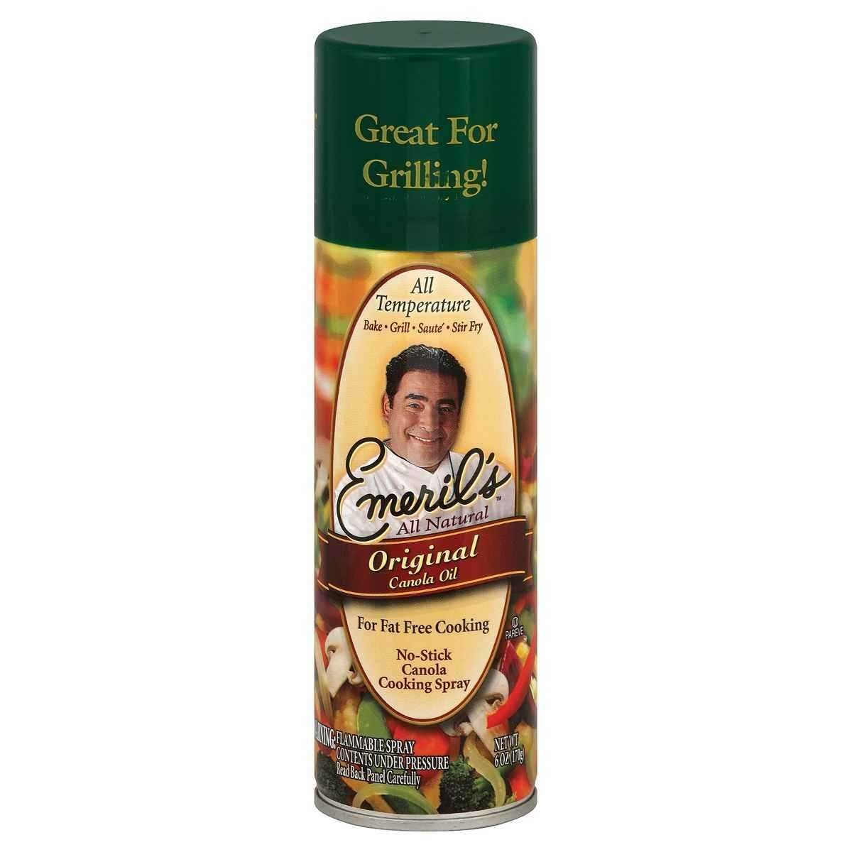 Emeril's Cooking Spray Natural Canola Oil, 6-ounces (Pack of6) by Emeril