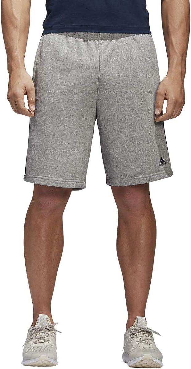 Med grau M adidas Herren Essentials French Terry Short Multisport