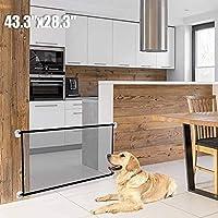 Mumoo Bear Magic Dog Gate - 43.3 x 28.3 Inch