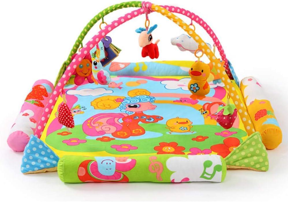 HEXbaby Manta Musical de Juegos para bebés, con 18 Actividades para el Desarrollo, Apta Desde el Nacimiento(Double)