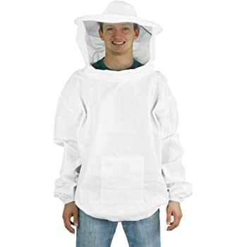 Keeper Premium beekeeping Suit Round hood veil- XX Large Bee Suit Eco