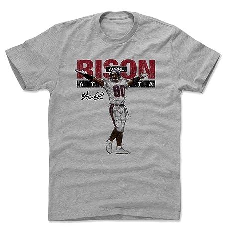 buy popular ffd79 bdea8 Amazon.com : 500 LEVEL Andre Rison Shirt - Vintage Atlanta ...