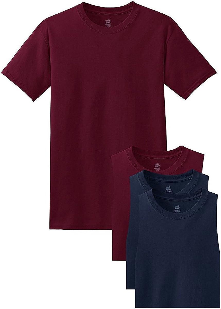 Hanes Mens Short Sleeve Comfort Soft T-Shirt