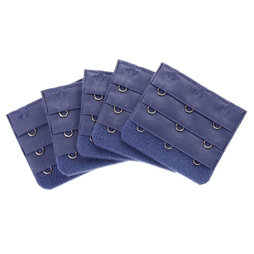 Sharplace 5x Damen 3 Haken BH-Erweiterung, Frauen BH-Trager-Extender Erweiterung flexible