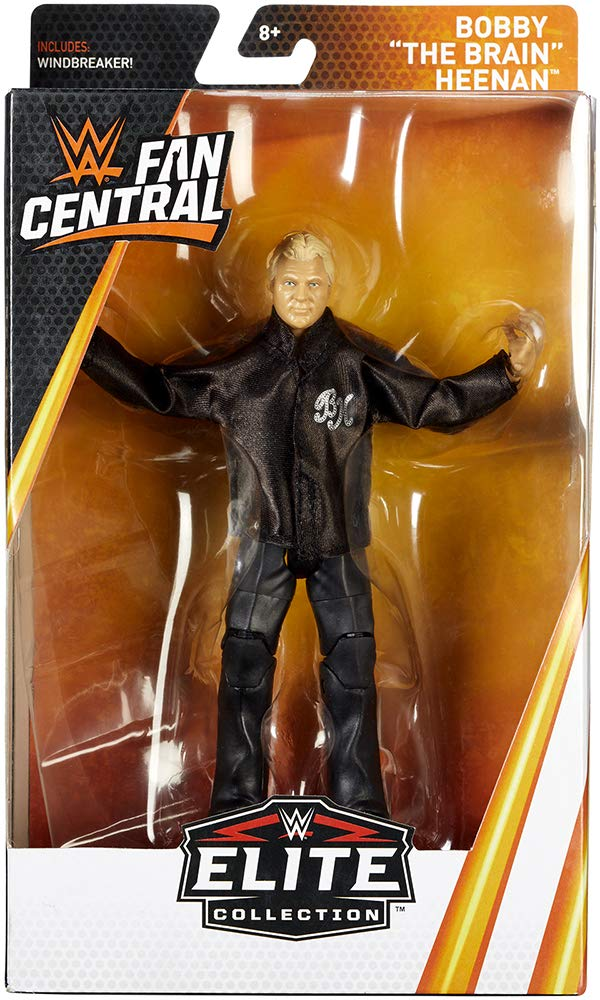 WWE Mattel Elite Collection Fan Central Exclusive Bobby Heenan Action Figure Mattel Toys SG/_B07BZXBQTY/_US