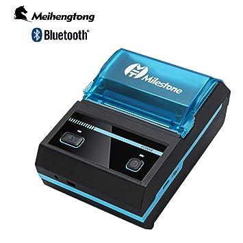 Impresora térmica Milestone de 5,08 cm, Impresora de Recibos ...