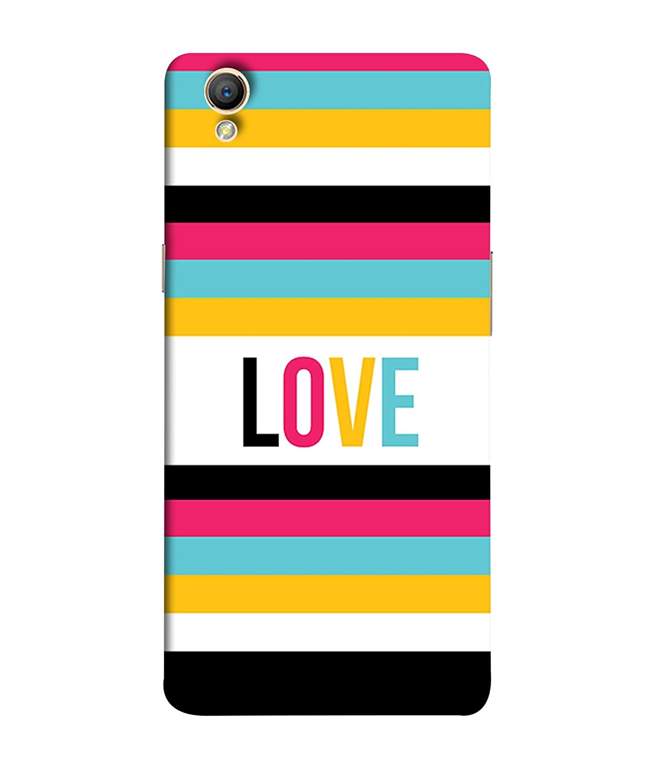 Oppo A37 Back Cover Vector Card Template With Color: Amazon