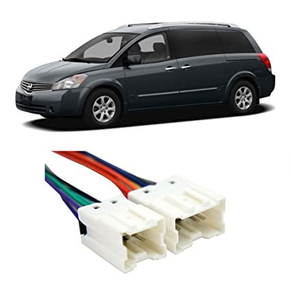 amazon com compatible with nissan quest 2004 2006 factory Ford Festiva Stereo Wiring Diagram