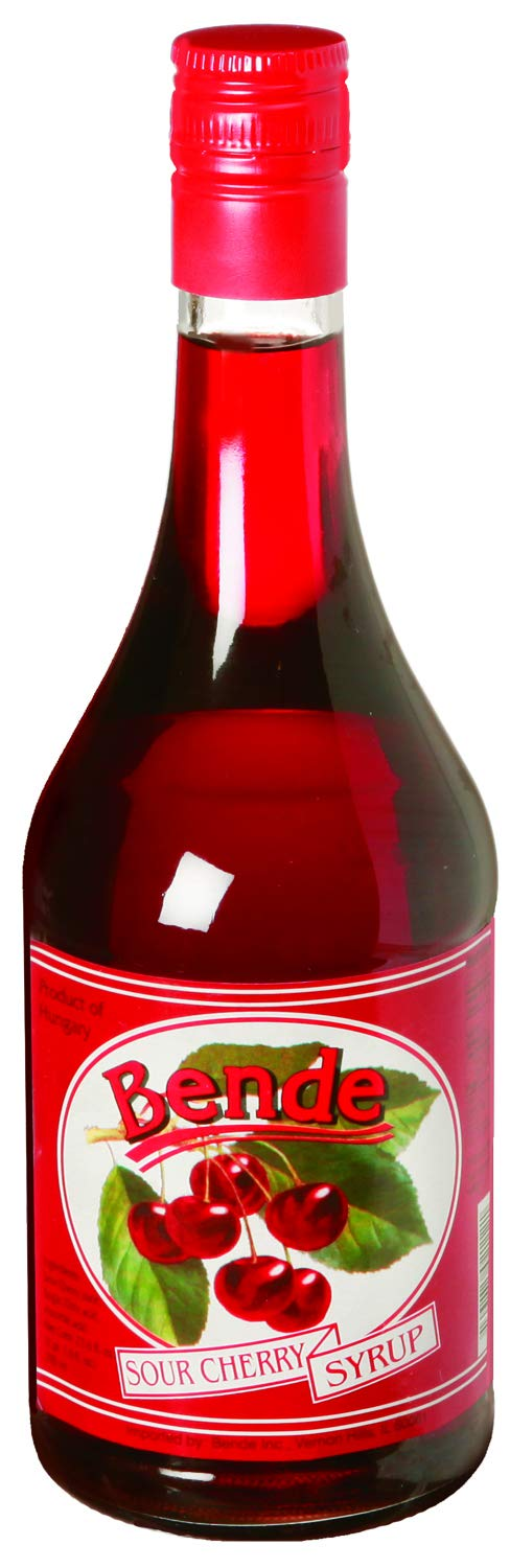 Bende Syrup, Sour Cherry, 23.6 Ounce