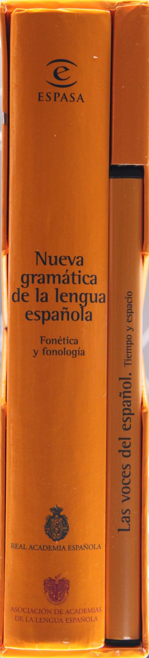 Nueva Gramática De La Lengua Española Fonética Y Fonologia Book Dvd Real Academia Española 9788467033212 Books