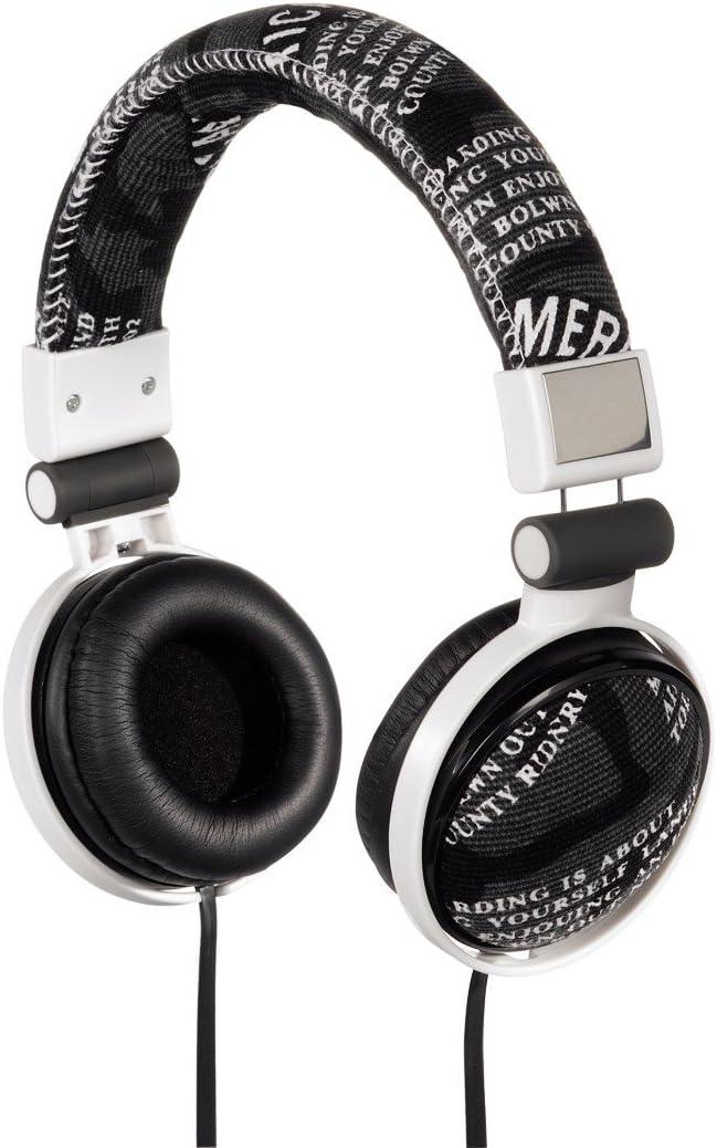 Hama Print Stereo On Ear Kopfhörer Schwarz Weiß Heimkino Tv Video