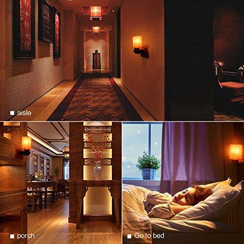 SMAGREHO-Natural-Himalayan-Salt-Lamp-Night-Light-Crystal-Salt-Lamp-Hand-Carved-Wall-Light-Used ...