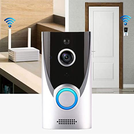 Home WiFi Smart Wireless Security Doorbell Visual Intercom Recording Video Kits