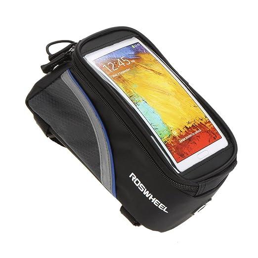 221 opinioni per Roswheel Borsa /custodia touch screen bicicletta Ciclismo anteriore per