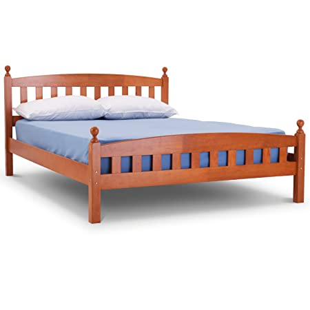 Florence Wooden Bed Frame 4ft6 Double Bed Frame Traditional