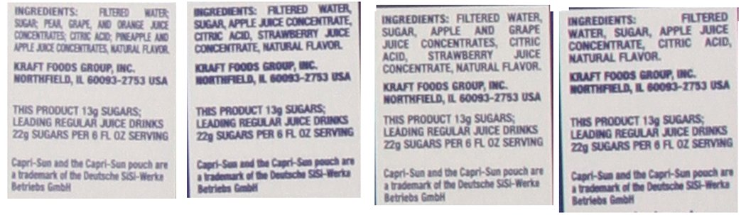 Caprisun Juice Variety Pouches Coolers Pack as Original, 40 Count