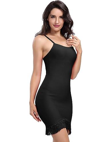 Adyce Vestito Donna-Sexy-Bandage-Dress rosso con suspender, donne sexy club / festa vestito senza spalline bodycon lingerie sexy notte taglia xs uk 4 / 6