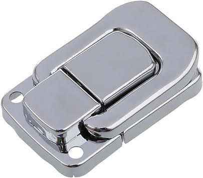 SNOWINSPRING Tone de plata Pestillo cerrojo de palanca de caja ...