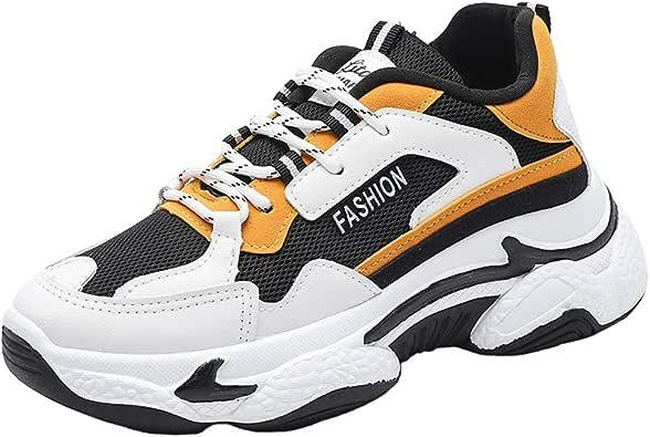 Zapatillas de Deporte para Mujer para Correr, Zapatillas Deportivas Transpirables para Aumentar la Altura Zapatillas Deportivas Suaves duraderas para Mujer: Amazon.es: Zapatos y complementos