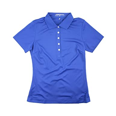 Nike Golf Mujer Nike Tech Pique Polo (Juego Royal, X-Large ...