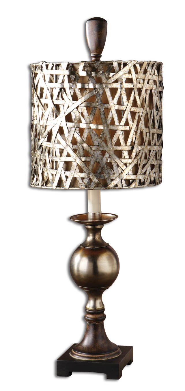 Buffet lamps shades - Uttermost Alita Champagne Buffet Lamp 29123 1 Table Lamps Amazon Com