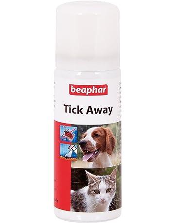 Beaphar Tick de distancia 50 ml No tóxico Spray Bloquea, garrapatas para facilitar la extracción