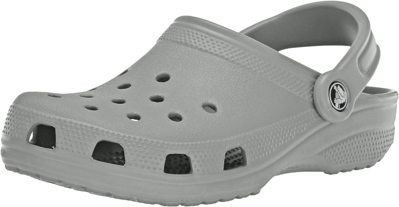 light grey classic crocs