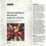 Diversité génétique des plantes tropicales cultivées (Reperes)
