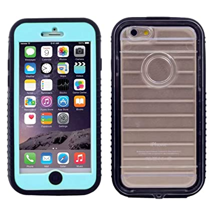 Amazon.com: Carcasa rígida para Apple iPhone 6, impermeable ...