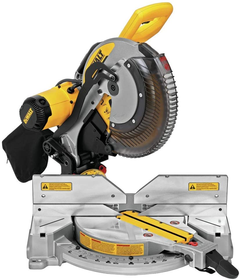 DEWALT DWS716XPS 15-Amp 12 Double Bevel Compound Miter Saw with Xps Cutline