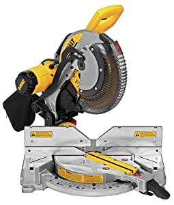 "DEWALT DWS716XPS 15-Amp 12"" Double Bevel Compound Miter Saw with Xps Cutline"