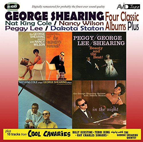 Avid Cd - Four Classic Albums plus - George Shearing