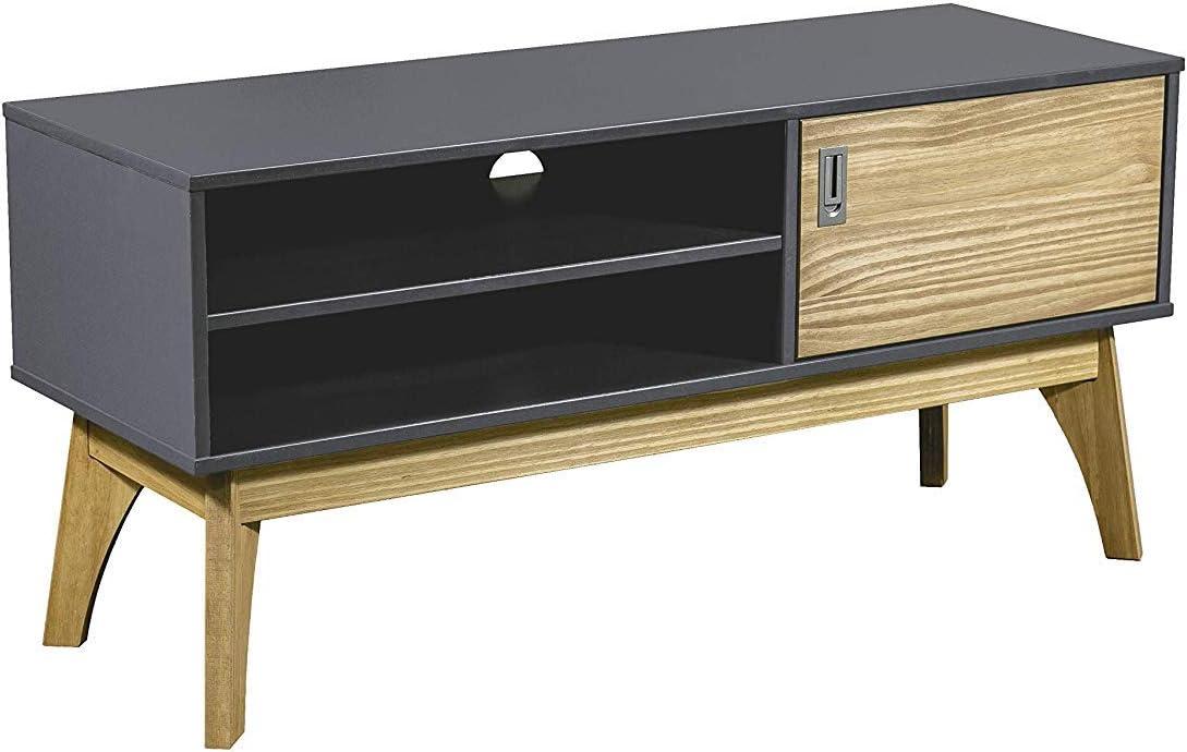 Hogar24-Mesa televisión, Mueble TV salón diseño Retro Vintage ...