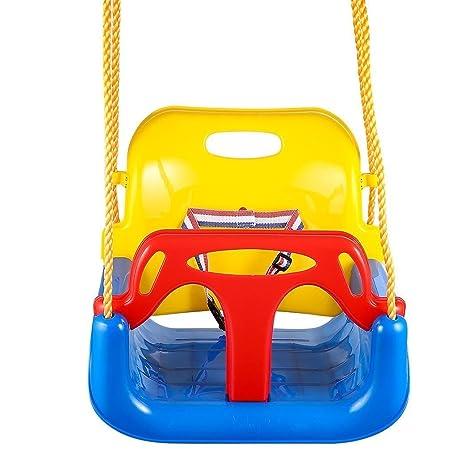 amazon com toddler swing seat baby high back full bucket 3 in 1