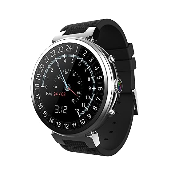 NAVIFORCE BT4.0 3G Inteligente Reloj Smart Watch Teléfono CPU 2G RAM 16G Nano Tarjeta