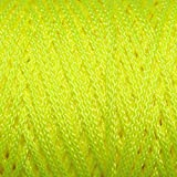 Braided Poly Mason Line - #18 Bonded Twine - DIY String - SGT KNOTS - Dacron Polyester Twine - Abrasion Resistant - Craft & Kite Cord, Bead Line & General Purpose Rope (1/2 lb x 450 ft, Neon Yellow)
