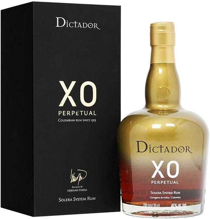 Dictador Rum XO Insolent 40% 7, 1 x 0,7 l: Amazon.es ...