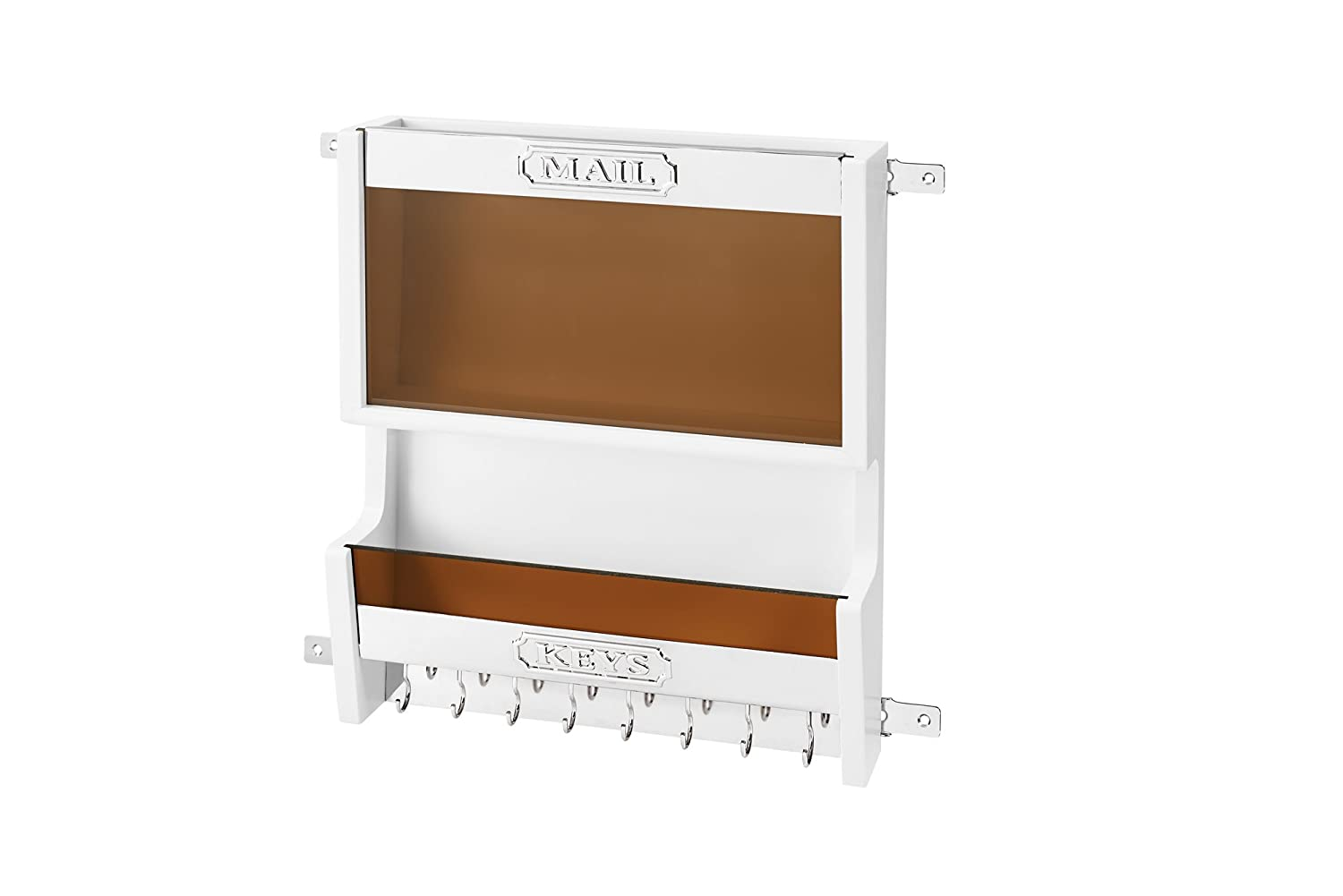 Rev-A-Shelf 4MR-18W-1-Mail Organizer, White