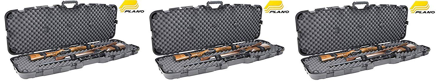 Plano Pro Max Double Scoped Rifle Case (Pack of 3) by Plano