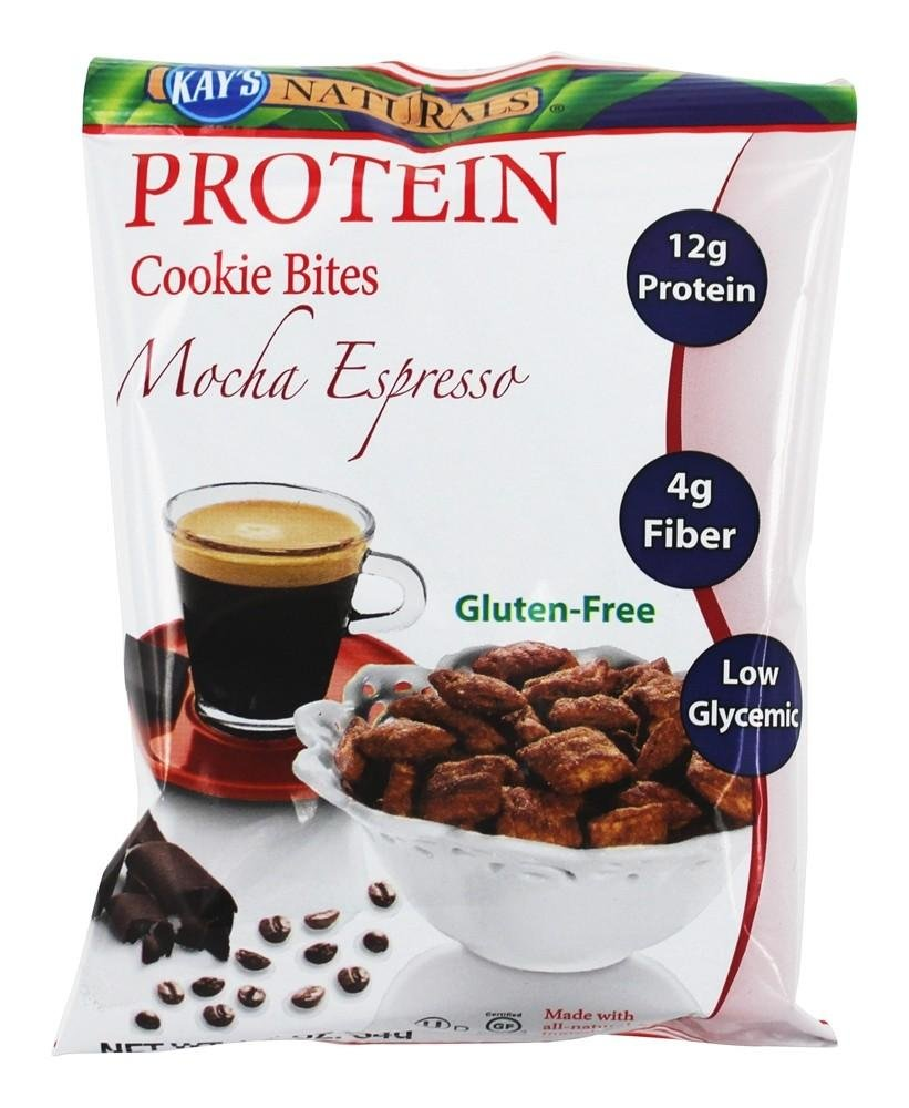 Kay's Naturals Protein Cookie Bites - Mocha Espresso