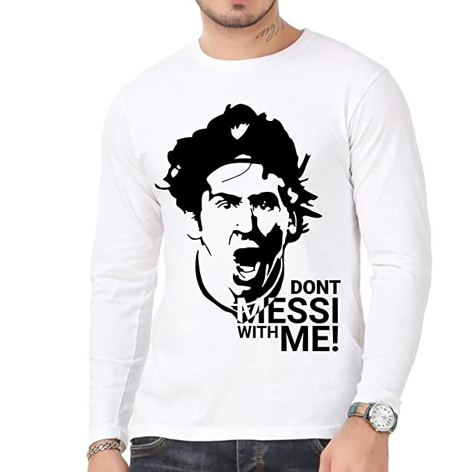 c848ca7ffe0 Messi LM10 Barcelona Full Sleeves Cool Design For Men: Amazon.in: Clothing  & Accessories