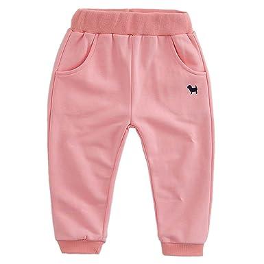 Aivtalk – Bas survêtement Pantalons de Sport Jogging Enfant Garçon Fille -  Convenable aux f1d1a757ce8