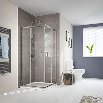 Cabina de ducha, puerta corredera, puerta de ducha, esquina de ...