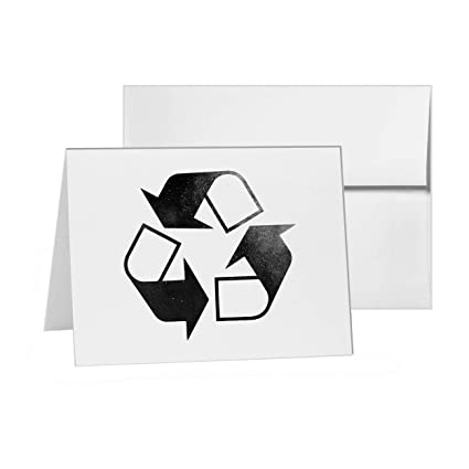 Amazon recycle steel reuse plastic planet blank card recycle steel reuse plastic planet blank card invitation pack 15 cards at 4x6 stopboris Image collections