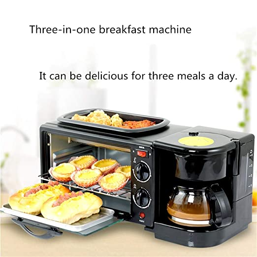 MEETGG MÁ quina de Desayuno Multifuncional para la Familia ...
