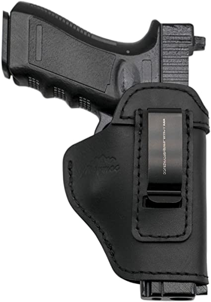 Leather IWB dissimulée Carry Gun Holster pour Glock 17 19 22 23 43 Sig Sauer